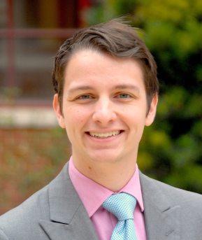 A professional style photograph of Jonathan Balmer